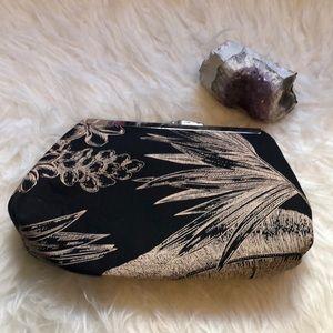 NWOT Hand made hawaiian print clutch
